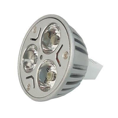 3w MR16 LED Globe - LED3WMR16 - PW - CW - WW