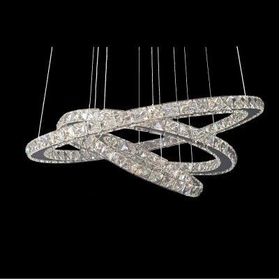 GALAXY 650 Warm White LED Crystal Pendant - LEDP1001WW