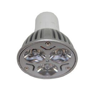 3w GU10 LED Globe - LED3WGU10 - PW - CW - WW