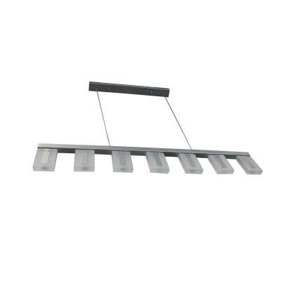Alloy Silver LED Pendant - LEDP1027