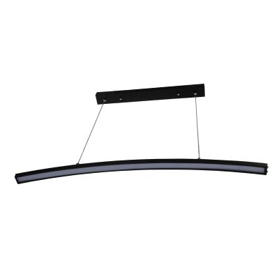 Arc Black LED Pendant - LEDP1021