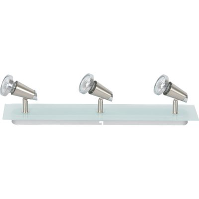 Ayaan 3 Light Square GU10 Frost Glass - AYAAN3LT