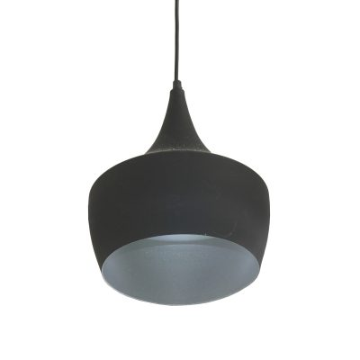 Azim Black 1 Light Pendant - SP1006