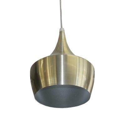 Azim Satin Nickel 1 Light Pendant - SP1008