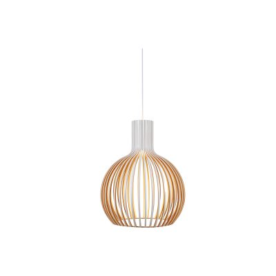 Bell 580 White Pendant Light - P1065BELL580W