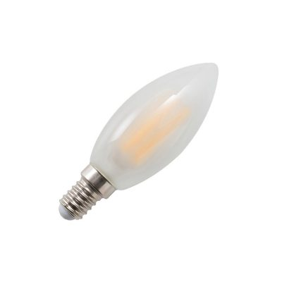 Candle E14 4W LED Globe Frosted - LEDCAN4WE14FR - PW - CW - WW