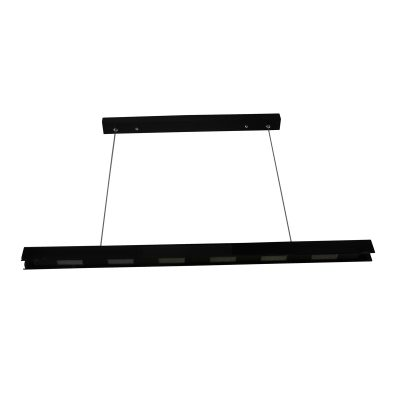 Civic Black LED Pendant - LEDP1024