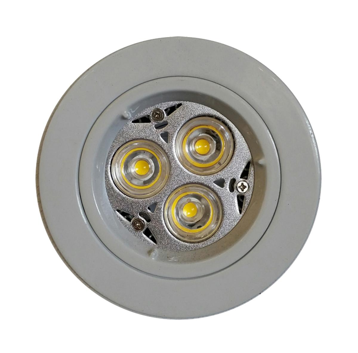 9 watt dimmable led downlight kit 240v cool white led. Black Bedroom Furniture Sets. Home Design Ideas