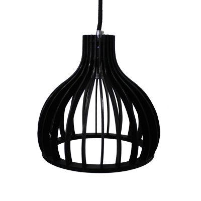 Ganto 220 Black Pendant Light - P1027GANTO220B