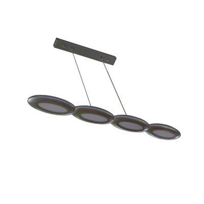Geonic Silver LED Pendant - LEDP1019
