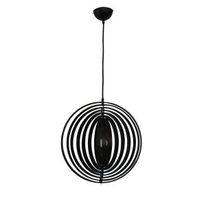 Helical 400 Black Pendant Light - P1212HEL40BLK