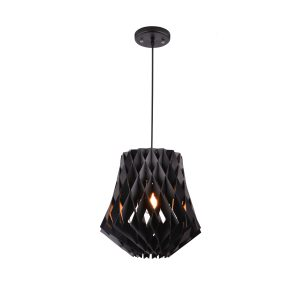 Hive 360 Black Pendant Light - P1021HIVE360B