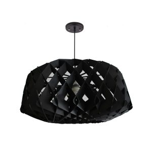 Hive 600 Black Pendant Light - P1022HIVE600B