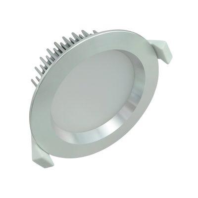 13 watt Dimmable LED Downlight Kit Anodized Aluminium- Cool White