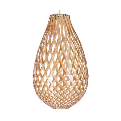 Ovaloid 500 Wooden Pendant Light - P1112OVA50WDN