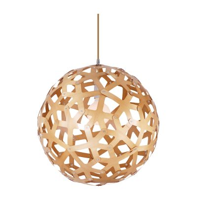Reef 600 Wooden Pendant Light - P1052REEF600