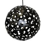 Solis 600 Black Pendant Light - P1099SOL60BLK