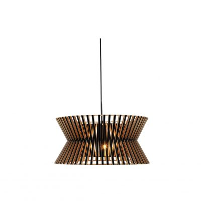 Stix 450 Black Pendant Light - P1128STIX45BLK