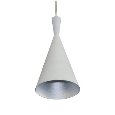 Tanzie White 1 Light Pendant - SP1010