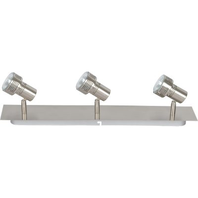Zaynah 3 Light GU10 Brushed Chrome - ZAYNAH3LT