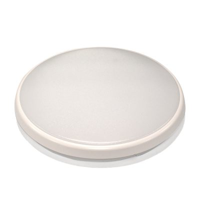 Round 28W LED Ceiling Light - White Frame in Warm White - LEDOYS28WRNDWHWW