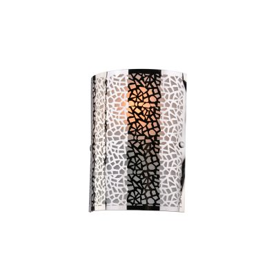 Zay Satin Nickel Wall Light - W003ZAYSN