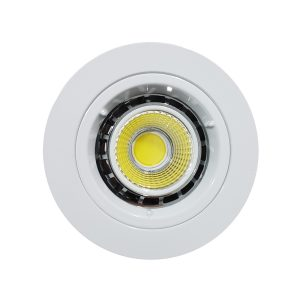6w COB GU10 LED Downlight Kit 70mm wh