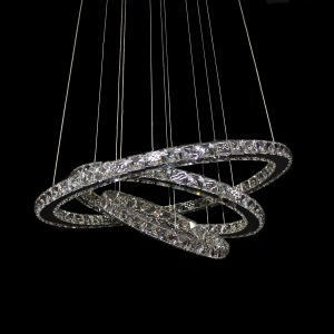 GALAXY 650 Cool White LED Crystal Pendant - LEDP1001CW