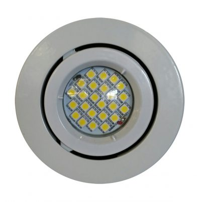 4w GU10 LED Downlight Kit 90mm white