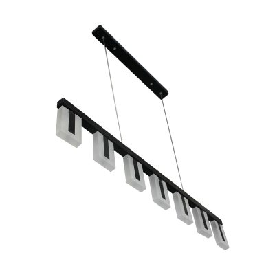 Alloy Black LED Pendant - LEDP1026