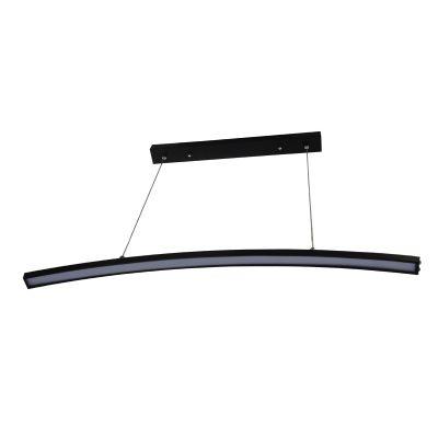 Arc Black LED Pendant - LEDP1021