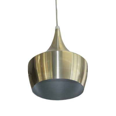 Azim Satin Nickel 1 Light Pendant - SP1008