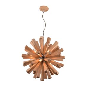 Burst 720 Wooden Pendant Light - P1120BUR72WDN