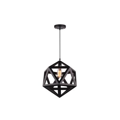 Galactic 450 Black Pendant Light - P1088GALAC45BL