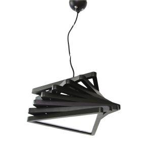 Geo 400 Black Pendant Light - P1085GEOBLK