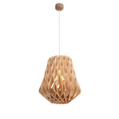 Hive 360 Wooden Pendant Light - P1020HIVE360