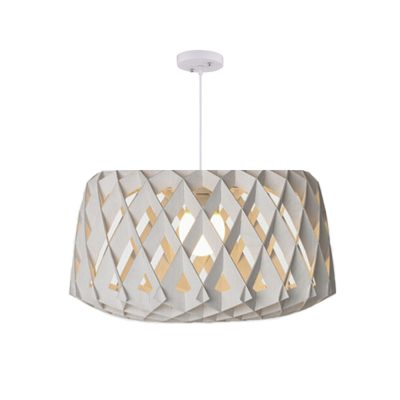 Hive 600 White Pendant Light - P1024HIVE600W