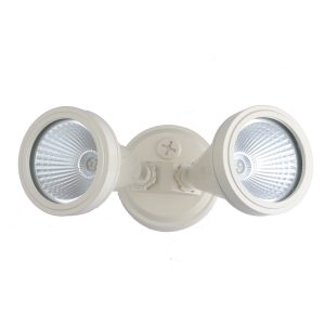 LED Double Beige Exterior Spot Light - ledsptdblbge