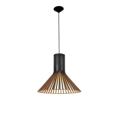 Martini 450 Black Pendant Light - P1057MARTINIB