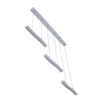 Ridge White LED Pendant - LEDP1014