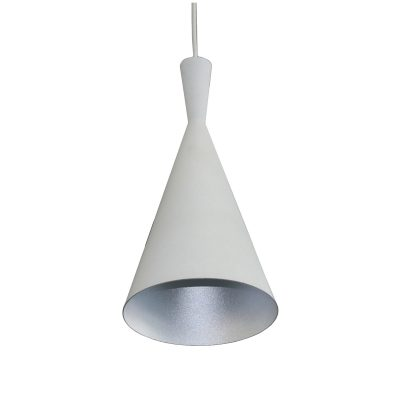 Tanzie White 1 Light Pendant - SP1010