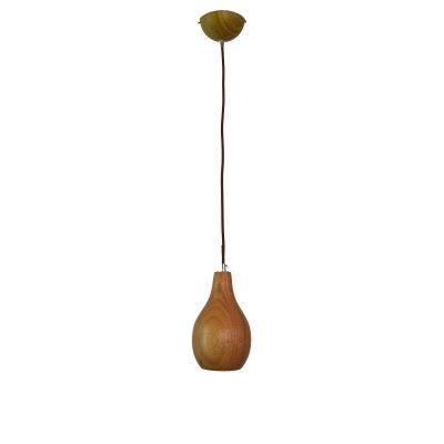 Woody 3 - 130 Wooden Pendant Light - P1123WOODY3