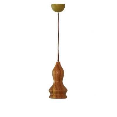 Woody 4 - 120 Wooden Pendant Light - P1124WOODY4