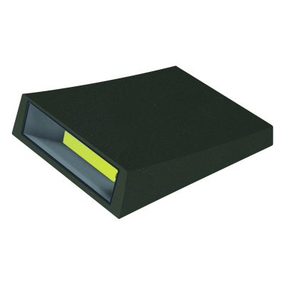 Curve LED Outdoor Black Wall Light - EXTLED1002