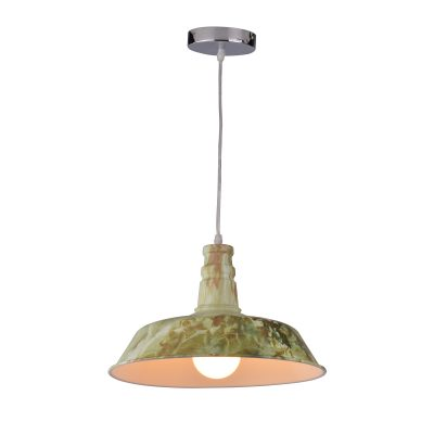 Flare 320 Camouflage 1 Light Pendant - P1216FLA37MARBLE