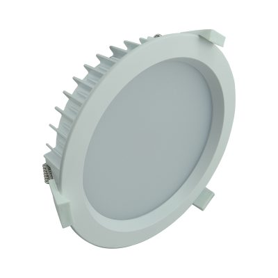 LED Round Shop Light 35w Dimm Warm White - LEDSHP35WWWDIMRND