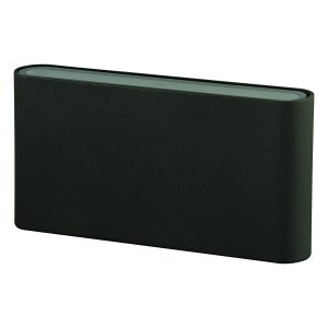 Micro Maxi LED Outdoor Black Wall Light - EXTLED1012
