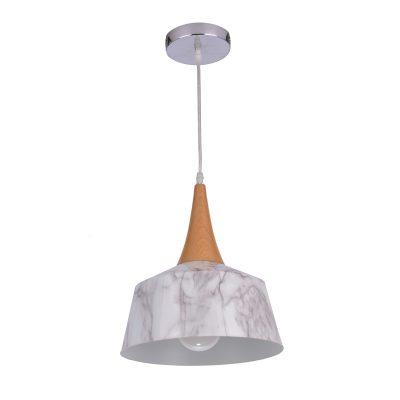 Skando 270 Marble Look 1 Light Pendant - P1237SKAMARBLE