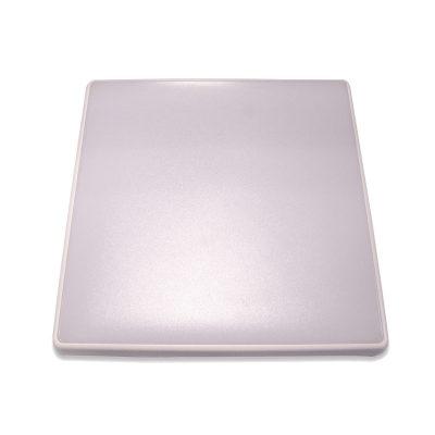 Square 18W LED Ceiling Light - White Frame in Warm White - LEDOYS18WSQRWHCW
