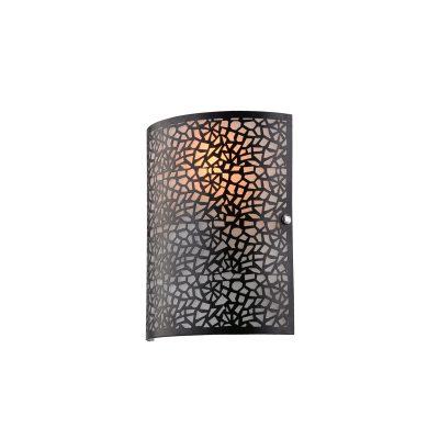 Zay Black Wall Light - W007ZAYBLK